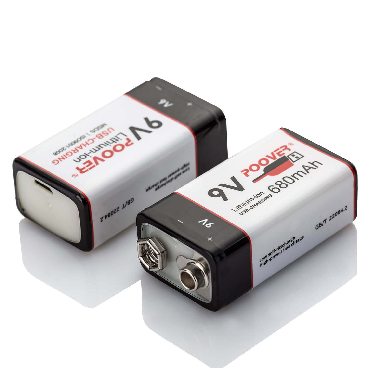 9v Usb Battery Micro Fast Charger Lithium Ion Polymer 9volt Simple Lipo Rechargeable